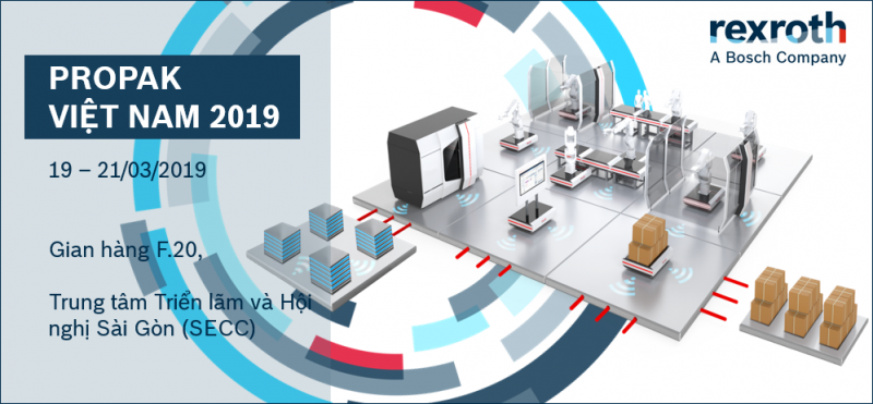 Bosch Rexroth at PROPAK VN 2019