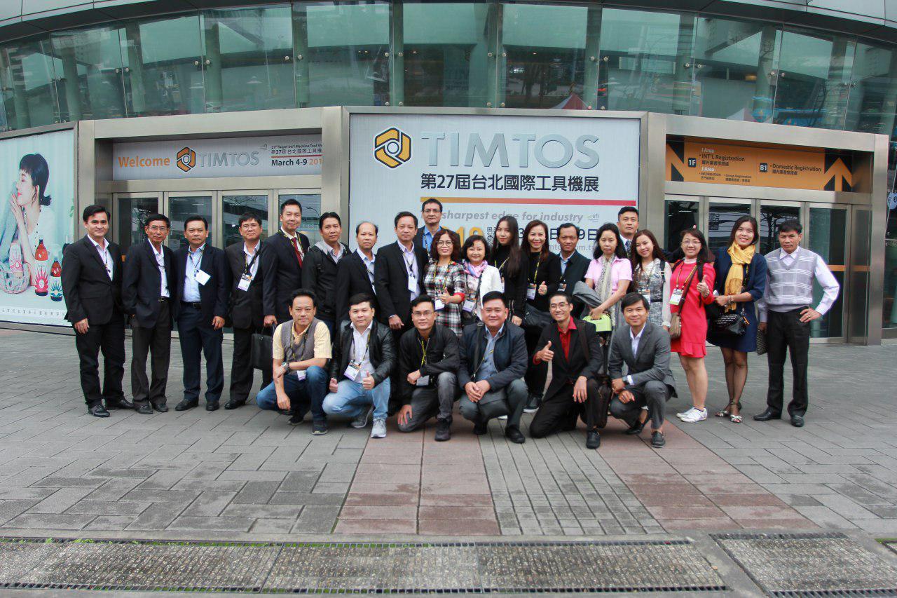 ĐOÀN DN HAMEE tham gia XTTM tại Đài Loan, ngày 4-9/3/2019